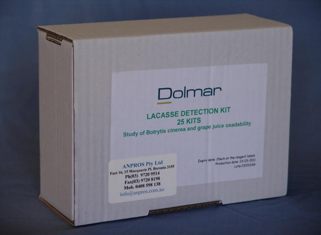Dolmar Laccase Test Kits