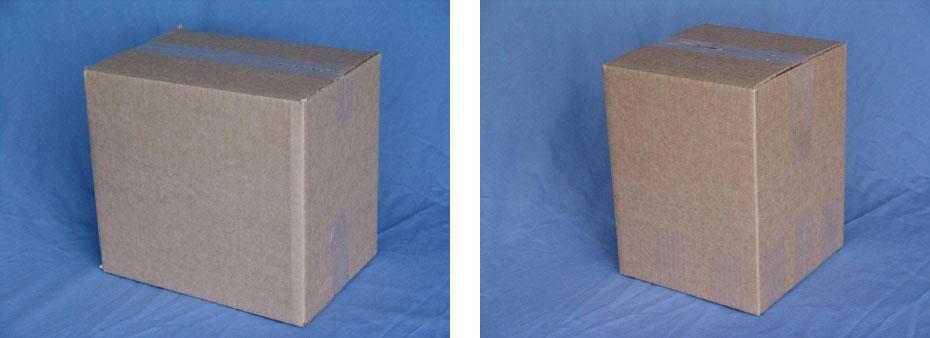 small & large carton